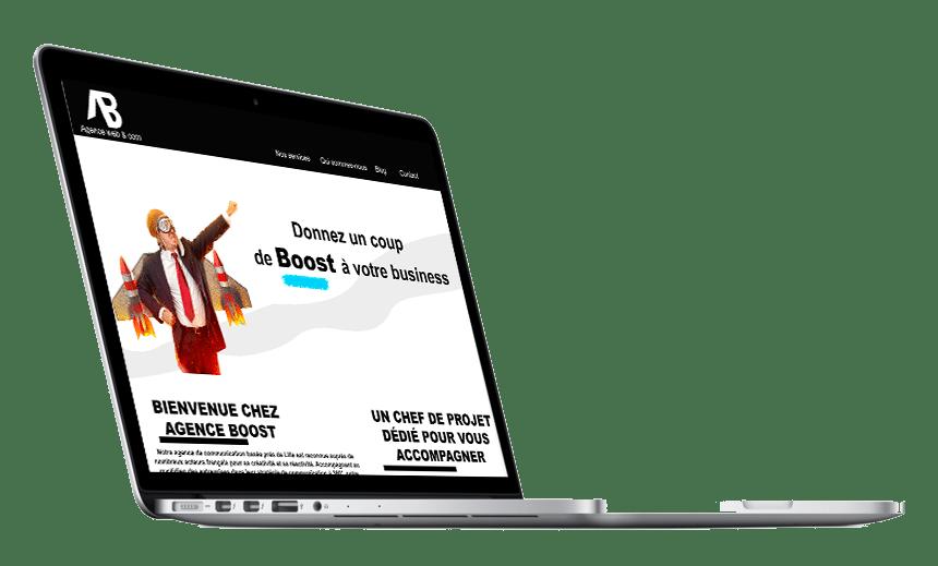 Création de site internet - Agence Boost